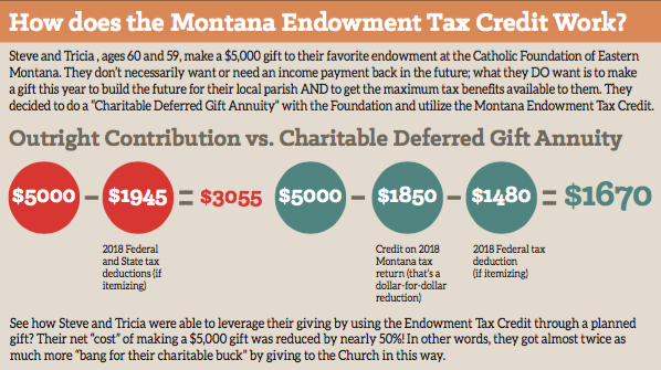 Montana Endowment Tax Credit